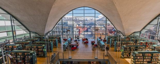 Biblioteket i tromsø ser helt fantastisk ut.